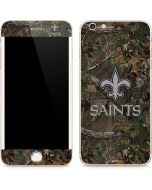 New Orleans Saints Realtree Xtra Green Camo iPhone 6/6s Plus Skin