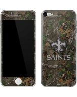 New Orleans Saints Realtree Xtra Green Camo Apple iPod Skin