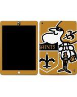 New Orleans Saints Retro Logo Apple iPad Skin