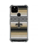 New Orleans Saints Trailblazer Google Pixel 5 Clear Case
