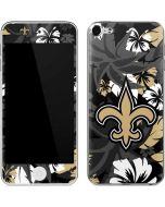 New Orleans Saints Tropical Print Apple iPod Skin