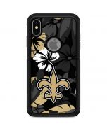 New Orleans Saints Tropical Print Otterbox Commuter iPhone Skin