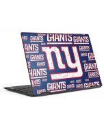 New York Giants Blast HP Envy Skin