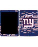 New York Giants Blast Apple iPad Skin