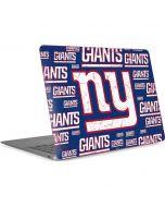 New York Giants Blast Apple MacBook Air Skin