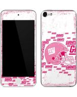 New York Giants- Blast Pink Apple iPod Skin
