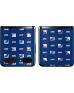 New York Giants Blitz Series Galaxy Z Flip Skin