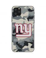 New York Giants Camo iPhone 11 Pro Max Skin