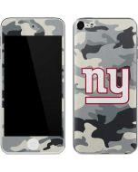 New York Giants Camo Apple iPod Skin