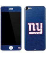 New York Giants Distressed Apple iPod Skin