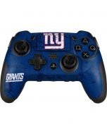 New York Giants Distressed PlayStation Scuf Vantage 2 Controller Skin