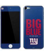New York Giants Team Motto Apple iPod Skin