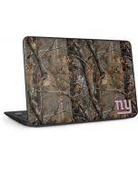New York Giants Realtree AP Camo HP Chromebook Skin