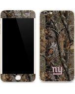 New York Giants Realtree AP Camo iPhone 6/6s Plus Skin
