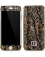 New York Giants Realtree AP Camo iPhone 6/6s Skin