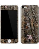 New York Giants Realtree AP Camo Apple iPod Skin
