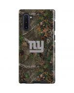 New York Giants Realtree Xtra Green Camo Galaxy Note 10 Pro Case