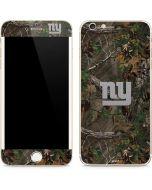 New York Giants Realtree Xtra Green Camo iPhone 6/6s Plus Skin