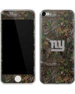 New York Giants Realtree Xtra Green Camo Apple iPod Skin