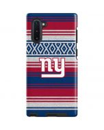 New York Giants Trailblazer Galaxy Note 10 Pro Case