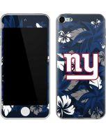 New York Giants Tropical Print Apple iPod Skin