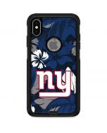 New York Giants Tropical Print Otterbox Commuter iPhone Skin