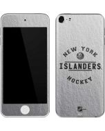 New York Islanders Black Text Apple iPod Skin