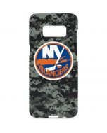 New York Islanders Camo Galaxy S8 Plus Lite Case
