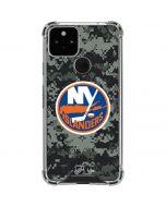New York Islanders Camo Google Pixel 5 Clear Case
