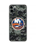 New York Islanders Camo iPhone 11 Pro Max Skin