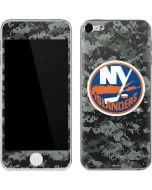 New York Islanders Camo Apple iPod Skin