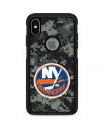 New York Islanders Camo Otterbox Commuter iPhone Skin