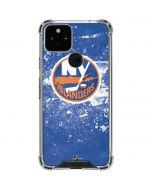 New York Islanders Frozen Google Pixel 5 Clear Case
