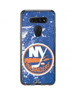 New York Islanders Frozen LG K51/Q51 Clear Case