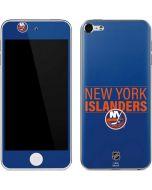 New York Islanders Lineup Apple iPod Skin
