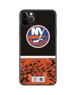New York Islanders Retro Tropical Print iPhone 11 Pro Max Skin