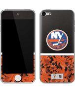 New York Islanders Retro Tropical Print Apple iPod Skin