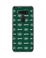 New York Jets Blitz Series LG K51/Q51 Clear Case