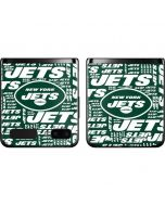 New York Jets Green Blast Galaxy Z Flip Skin