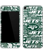New York Jets Green Blast Apple iPod Skin
