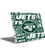 New York Jets Green Blast Apple MacBook Air Skin