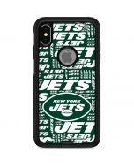New York Jets Green Blast Otterbox Commuter iPhone Skin
