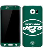 New York Jets Large Logo Galaxy S6 Edge Skin