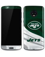 New York Jets Moto G6 Skin