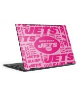 New York Jets Pink Blast HP Envy Skin