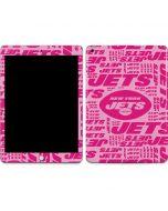 New York Jets Pink Blast Apple iPad Skin