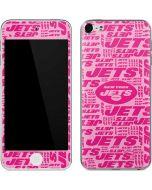 New York Jets Pink Blast Apple iPod Skin