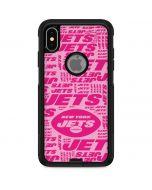 New York Jets Pink Blast Otterbox Commuter iPhone Skin