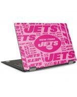New York Jets Pink Blast Dell XPS Skin