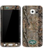 New York Jets Realtree AP Camo Galaxy S6 Edge Skin